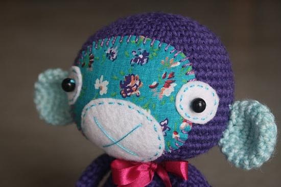 """#crochet #amigurumi monkey"" #Amigurumi  #crochet"