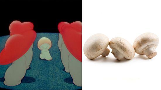baby animals Disney Fantasia dancing mushrooms