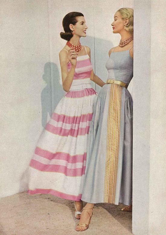 Photo by Horst P Horst, January Vogue 1956