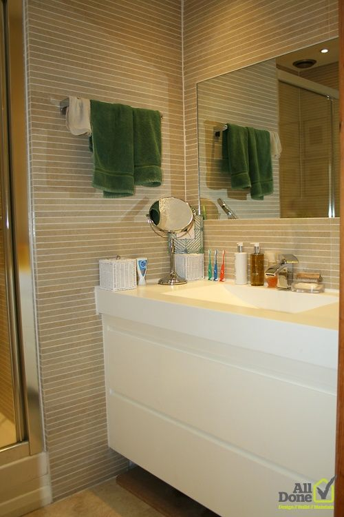 En Suite #Bathroom #Refurbishment #Decoration All Before & After Pictures on facebook: Check out All Done Design &