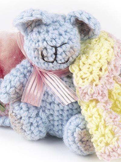 Baby Animals free crochet pattern