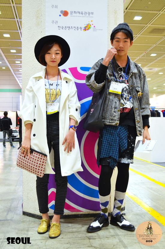 Seoul Street Fashion: Kooky Kidz www.districtgal.com