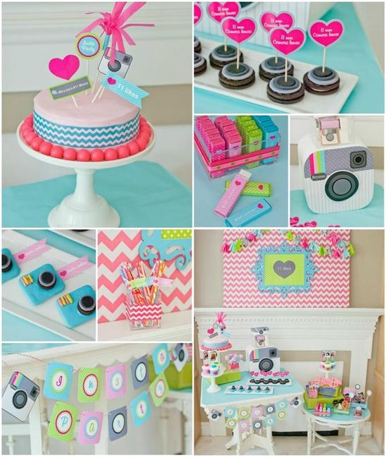 Instagram Inspired Party with SO MANY Cute IDEAS via Kara's Party Ideas