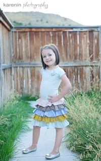 """Last Chance"" Clearance Sale! Including this Sashay Soft Colored Ruffle Dress for $16! Kids hats, shoes, dresses and more! www.taylorjoelle...."