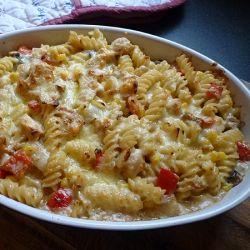 Creamy Chicken Pasta Bake