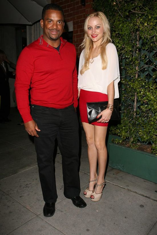 Alfonso Ribeiro & Wife Welcome A Baby Boy