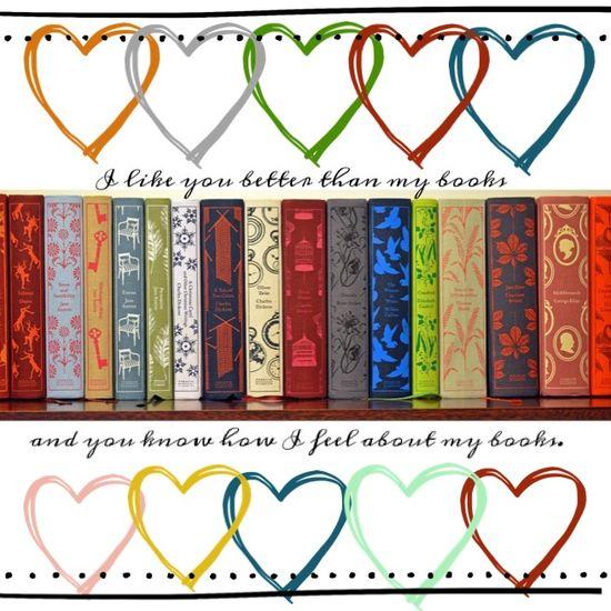 Book love, Penguin cloth bound classics, like you more than my books. #southernbluestocking