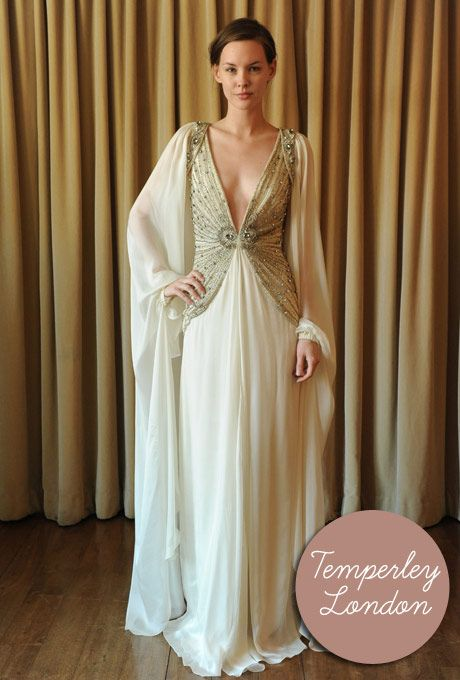 Finally here!! Temperley 2012 Wedding Dresses - beautiful styling mixing Boho, Vintage & Luxe. this is my fave