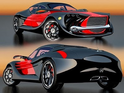 Wings of Nike Sport Cars Concept