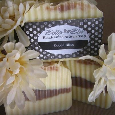 Cocoa Bliss Handmade Soap. $6.00, via Etsy.