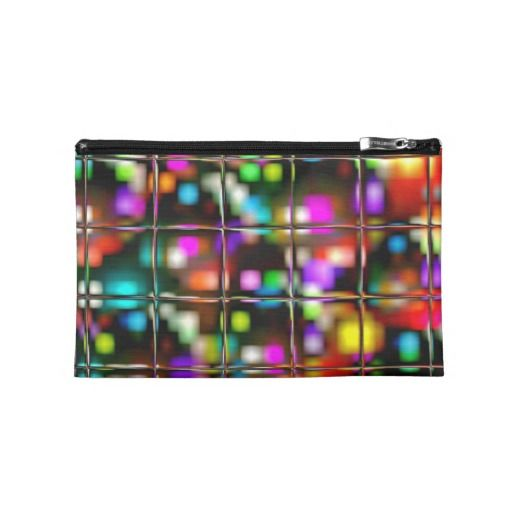 #Christmas Lights Travel Accessories Bag