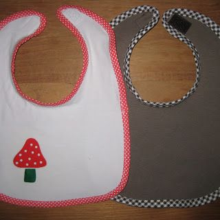 Tutorial: make a Baby Bib from old T-shirts