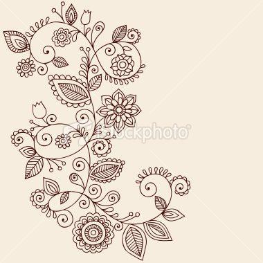 #Paisley Flower Tattoo