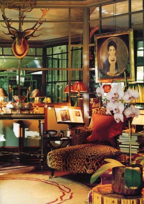 Fabulous boho room.