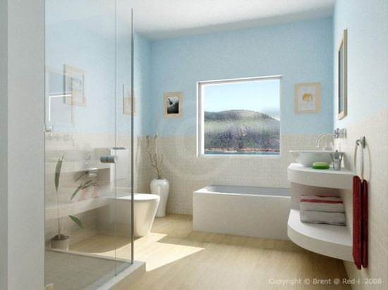 Custom Bathroom featured on Home-Designing