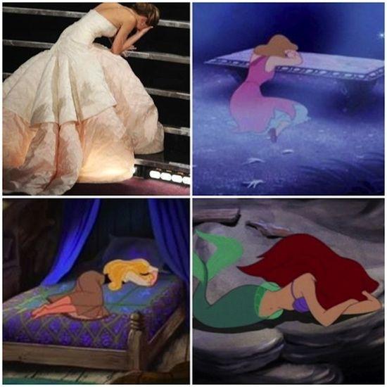 Proof that Jen is a Disney princess