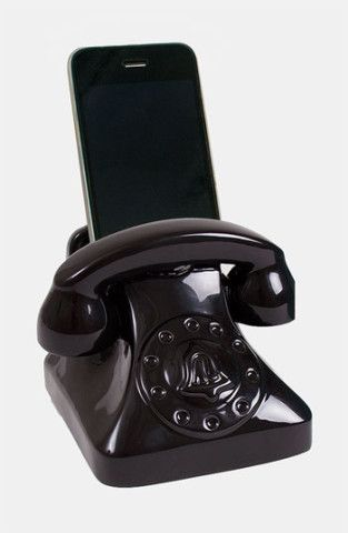 Jonathan Adler Universal Smart Phone Dock. How cool is this little gadget?