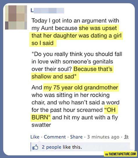 Gotta love grandmas