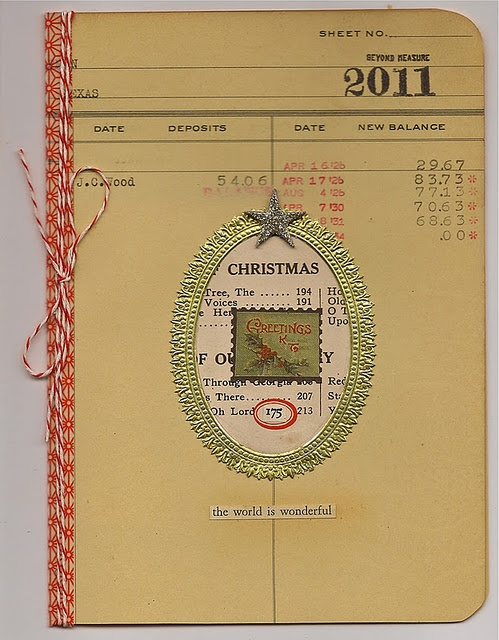 Beautiful handmade Christmas card!