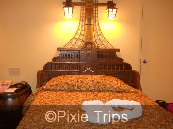 Disney Caribbean Beach Resort - Trinidad South - Pirate Theme Rooms  www.pixietripstra...