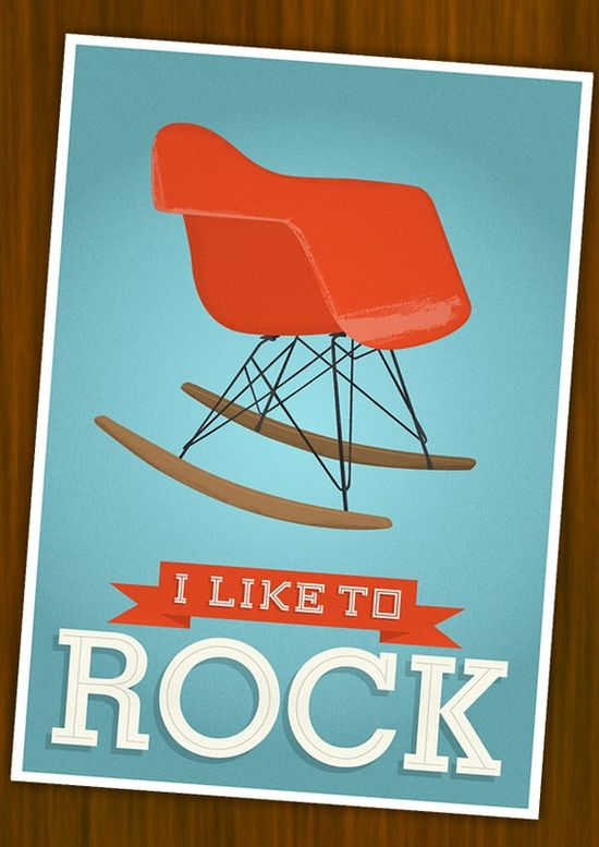 Eames poster  Mid century poster   nursery wall art   by handz, $19.00