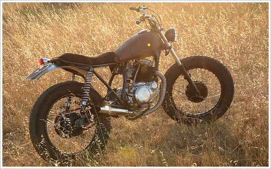 '81 Yamaha SR 250 - La RaízMotorcycles - Pipeburn