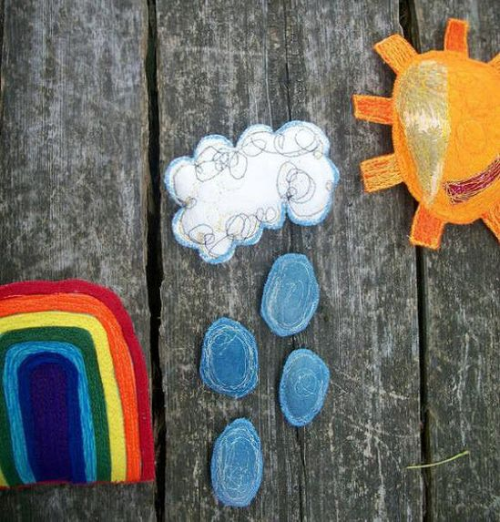 Let Your Kids Play With The Weather  #weather #clever #education #waldorf #montessori #crafts #kids