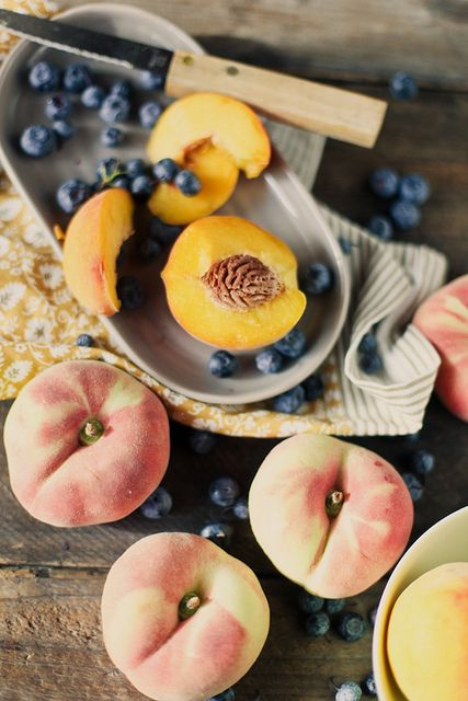 Peaches are my favorite summertime fruit