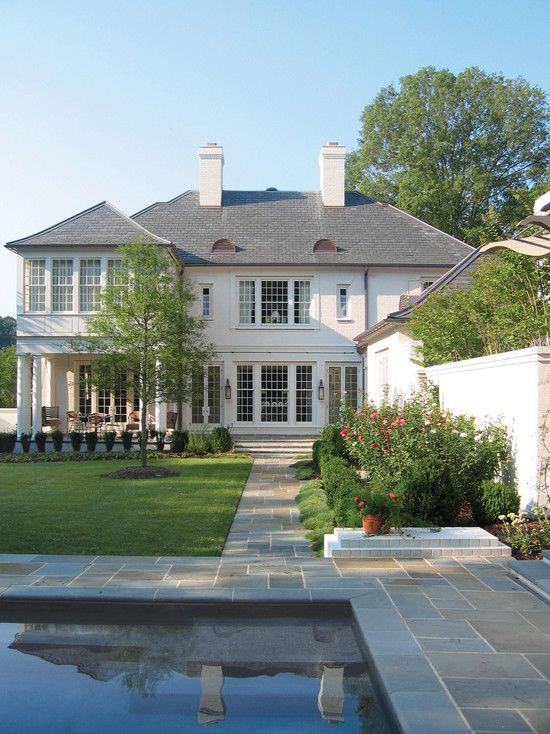 exterior. classic design .