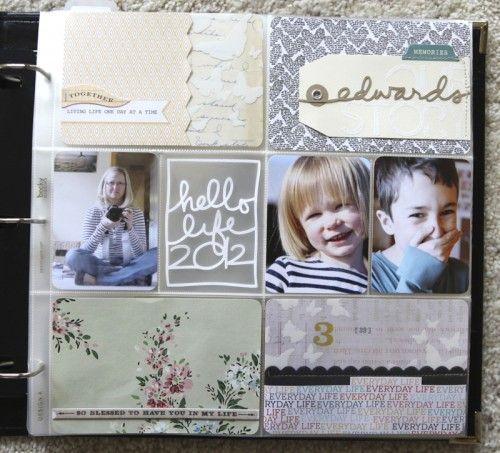 Cute Project Life Showcase by Ali Edwards. Beautiful stuff.