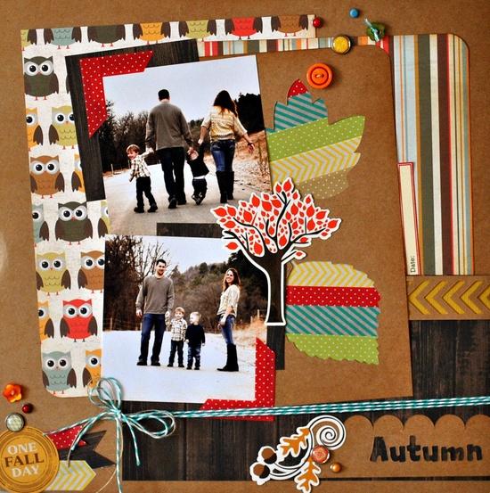 Echo Park's Fall Fever  A perfect Fall Day - Scrapbook.com