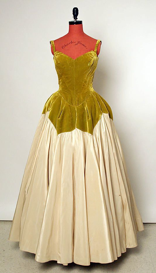 """Petal"" Evening gown by Charles James 1951"