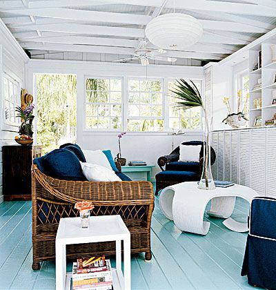 Clean Lines < Color Combos: Blue and White - MyHomeIdeas.com