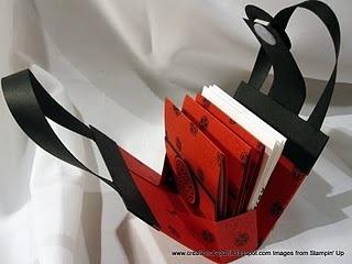 3 x 3 purse w/ matching cards