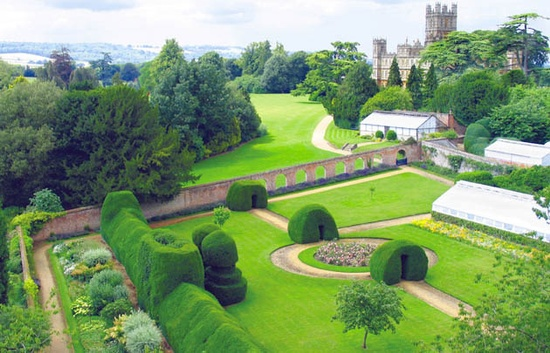 """The Gardens of """"Downton Abbey"""" (Highclere Castle)"""