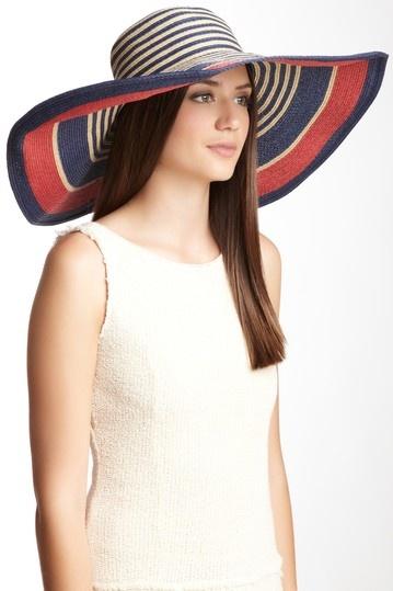 Striped Sun Hat on HauteLook