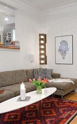 Charming Swedish Apartment Design