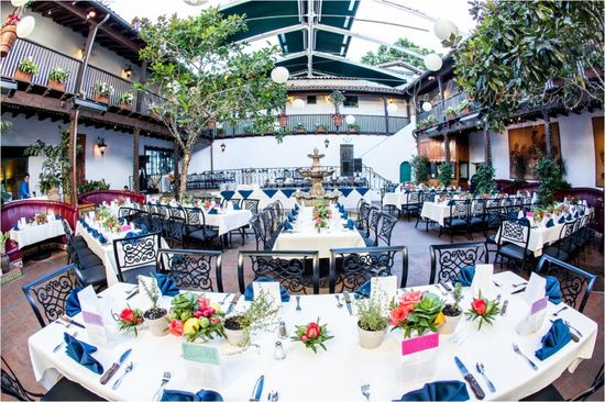 Wedding reception at El Paseo