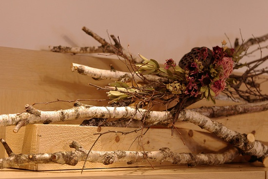 Dried flower arrangement by kaz*, via Flickr