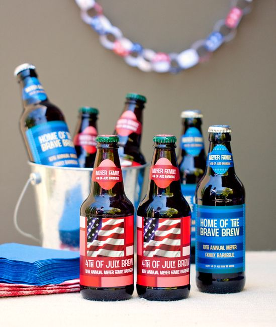 4th of July Party Printables