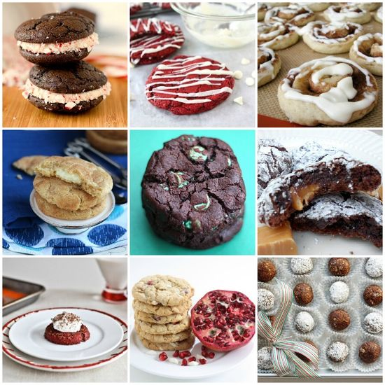 30 of the BEST Holiday Cookie Recipes on www.twopeasandthe... #recipes #cookies