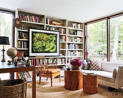 Home Office / Library with Emphasis on the books