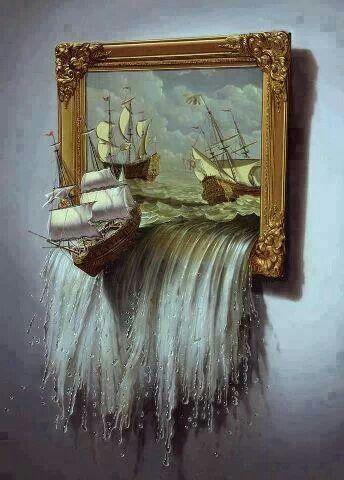 3-D art