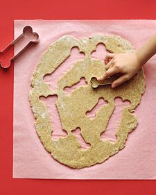 Make your own dog biscuits via marthastewart.com #shopko