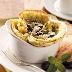 Savory Omelet Cups via Taste of Home