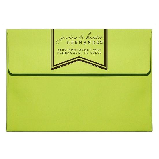 Custom Address Stamp return address stamps 6890 by sweetpaperie, $23.95