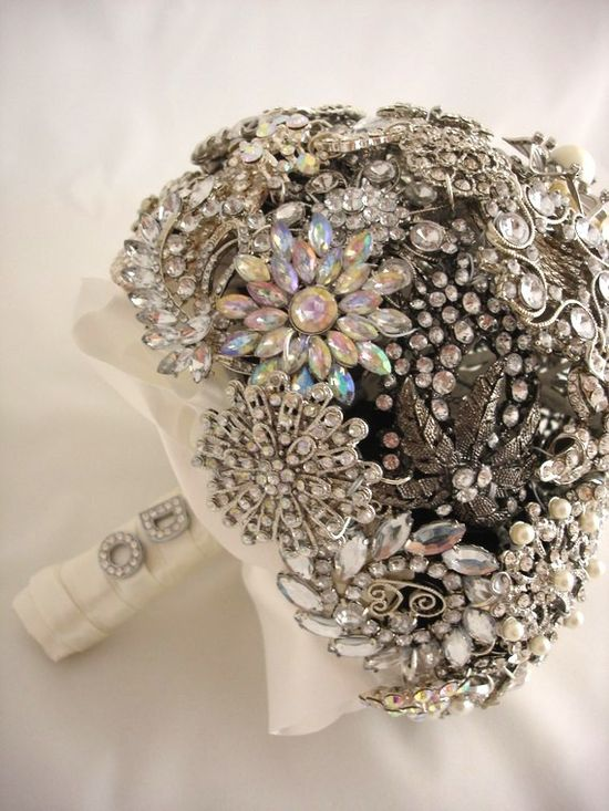 love.  Brooch bouquet!