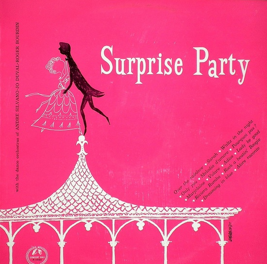 surprise party record cover