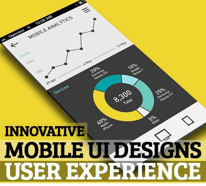 Innovative Mobile UI Designs and User-Experience
