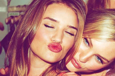 usually don't like the kissy face but this is a cute friend pic . - Sex appeal of a model regardless of what you look like! Click the pic